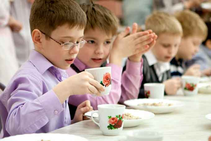 харчування дітей у школі