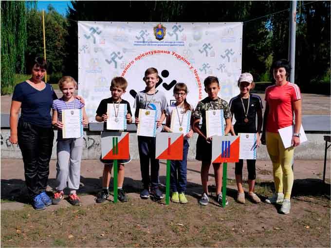 Відбувся Відкритий чемпіонат області на спринтерських дистанціях зі спортивного орієнтування