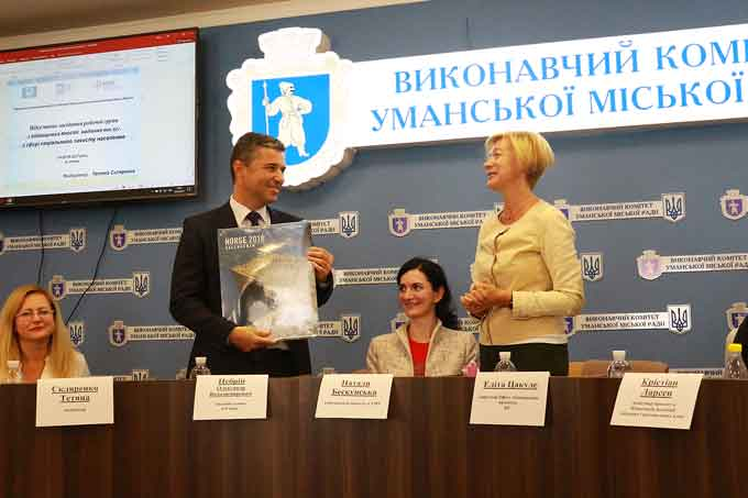 В Умані відбулось підсумкове засідання в рамках українсько-норвезького проекту