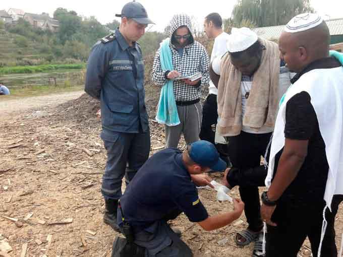 В Умані хасид постраждав під час ритуального омовіння (фото)