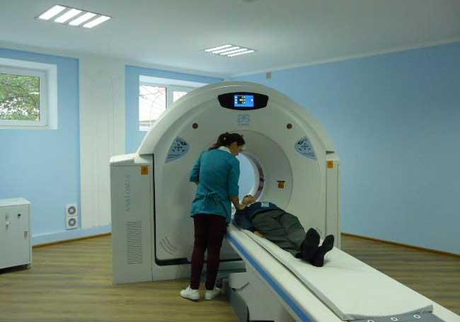 спіральний комп'ютерний томограф ANANON-16, вартістю 10 млн. 754 тис. грн, спільного виробництва США (основні функціональні блоки) та Китай (корпус)