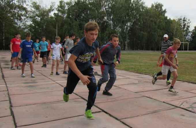 На честь Героїв АТО у Звенигородці провели спортивні змагання