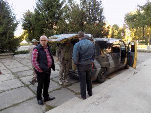 Голова Кам'янської райради разом з волонтерами повернулися з зони АТО