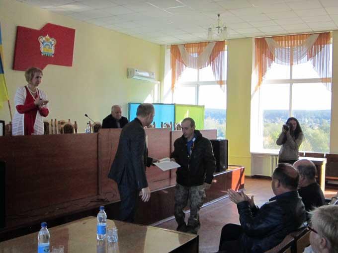 У Катеринополі ЗАТ «НВФ «Урожай» передало землю учасникам АТО