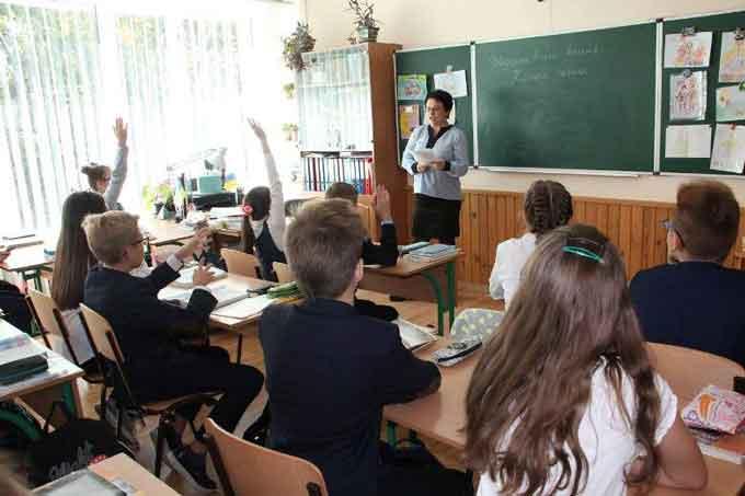 У черкаській гімназії № 9 батьки навчали дітей фізики, мови та психології
