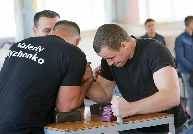 Відбувся Кубок Черкаської області ФСТ «Динамо» з армреслінгу