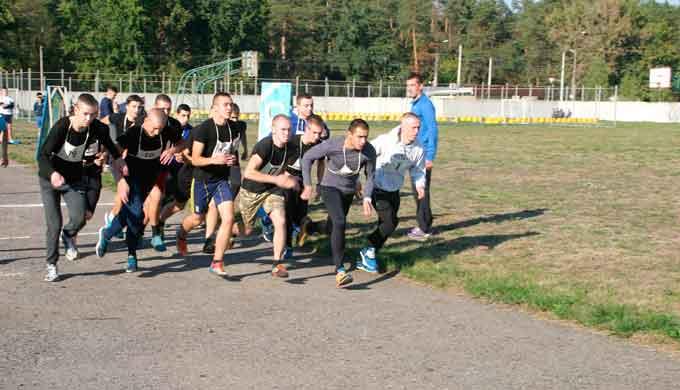 У ЧІПБ відбулися змагання з легкої атлетики