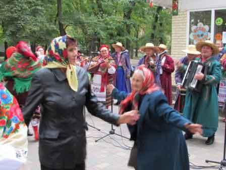 «Бабусине свято» відсвяткували у Шполі (фото)