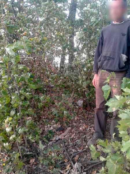 На Черкащині у чоловіка виявили самопал (фото)