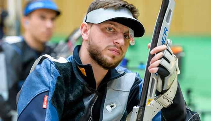 Черкащанин Сергій Куліш встановив рекорд світу та Європи зі стрільби