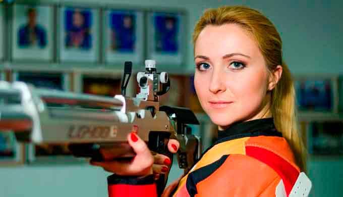 Дарія Шаріпова та Сергій Куліш вибороли 2 золоті та 1 бронзову медаль на Кубку України з кульової стрільби