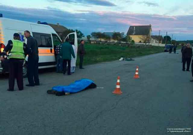 Правоохоронними органами Золотоніського району триває розшук особи, яка здійснила наїзд на жінку