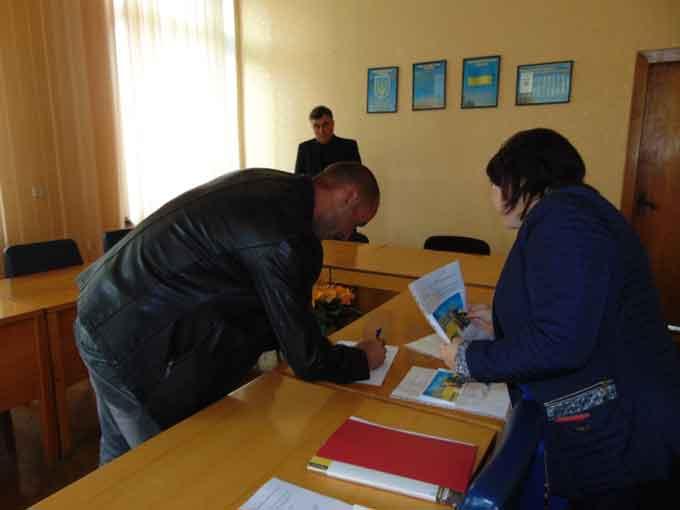 На Звенигородщині 15 учасників АТО отримали документи про право власності на земельні ділянки