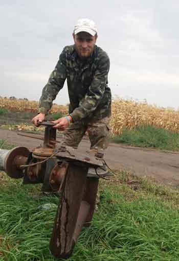 Демобілізований боєць АТО знайшов роботу