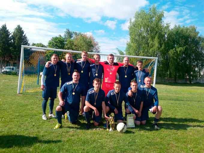 Завершився чемпіонат Чорнобаївського району з футболу