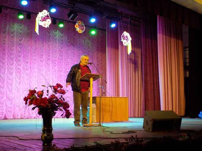На Кам'янщину завітав відомий український письменник Василь Шкляр