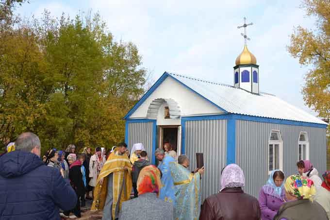 На Жашківщині освячено новозбудовану каплицю та започатковано будівництво храму