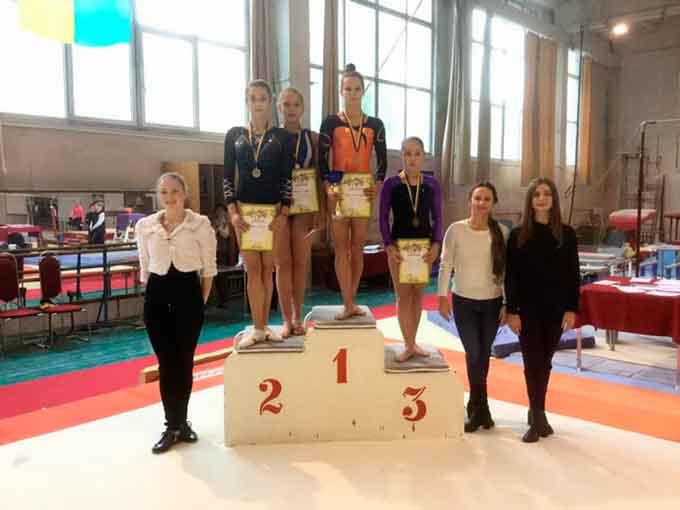 Вихованка КДЮСШ «Спартак» посіла ІІІ місце у чемпіонаті з гімнастики спортивної