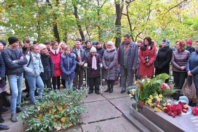 У Каневі вшанували пам'ять видатного археолога та історика Миколи Біляшівського