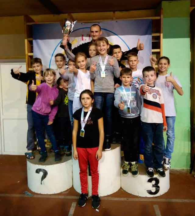 Вихованці КДЮСШ «Вулкан» зайняли призові місця на Відкритому Кубку Федерації таеквондо ІТФ України