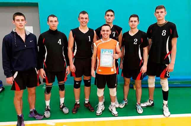 Волейболісти ЧІПБ вибороли перше місце на XV Універсіаді Черкаської області серед вищих навчальних закладів