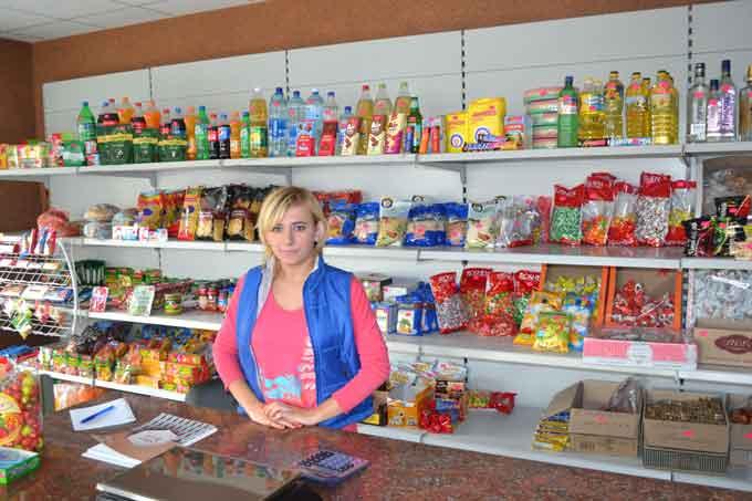 У Дібрівці відкрили магазин