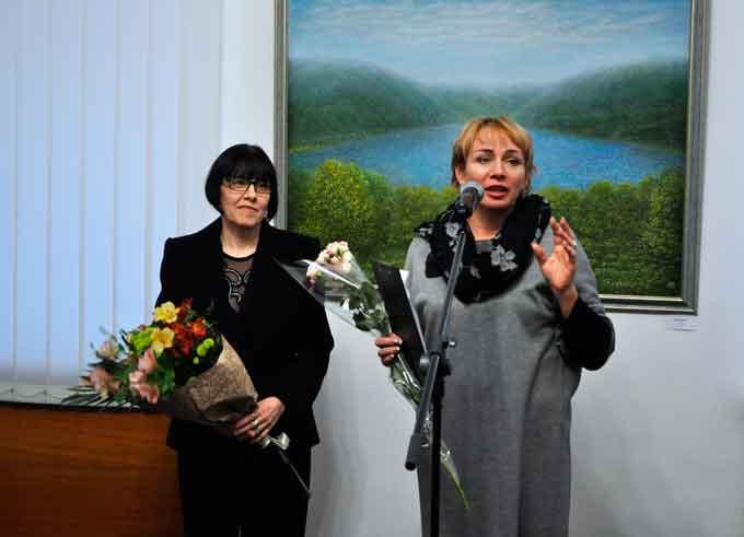 10 листопада 2017 року у Черкаському обласному художньому музеї відкрилася персональна виставка Валентини Богачової-Сумченко «Синтез»