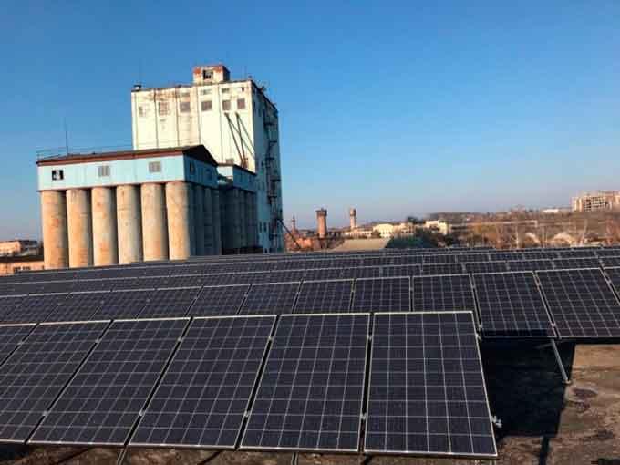 ДП «Златодар» запустило сонячну електростанцію (фото)