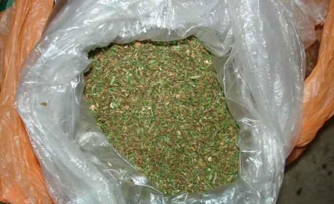 правоохоронці виявили близько 200 грамів коноплі