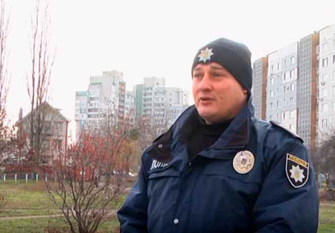 Сергій Миколайович Мохонько, старший дільничний офіцер Черкаського відділу поліції