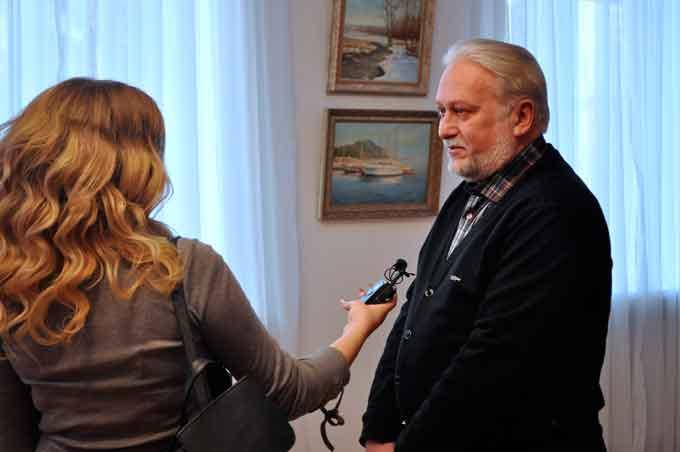 Персональна виставка Олега Чижикова «Школа реалістичного пейзажу» відкрилася у Черкасах