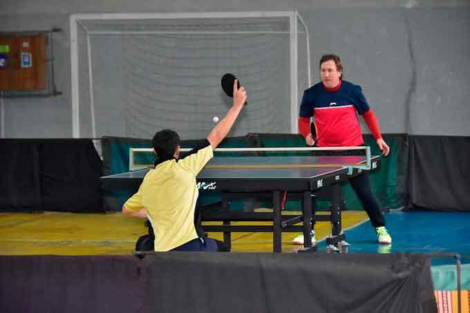 У ЧДТУ пройшов тенісний турнір серед викладачів та співробітників