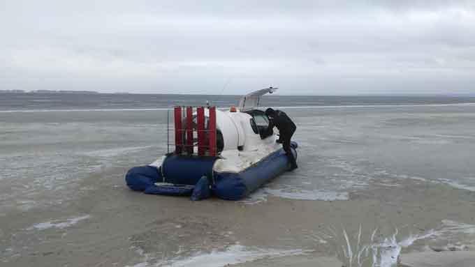 У Чигиринському районі рятувальники знайшли тіло рибалки (відео)