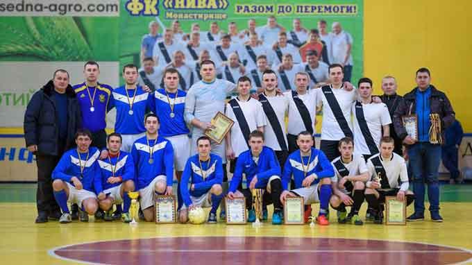 Кубок Монастирищини з міні-футболу здобула футбольна команда