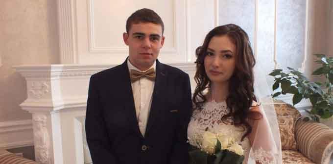 у День закоханих в Черкасах одружилося 12 пар