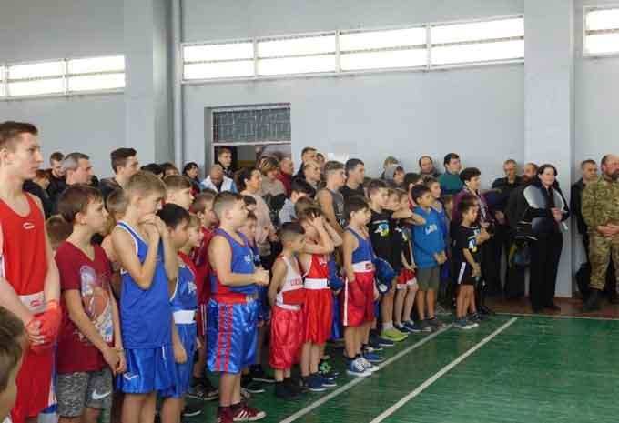 У Чорнобаї відбувся відкритий турнір із боксу «Патріот»