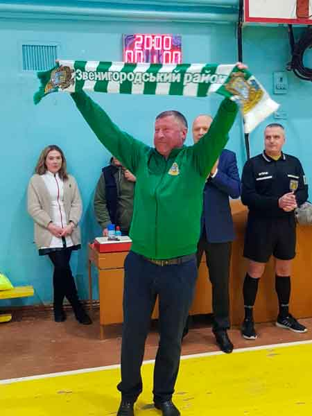 Відбувся другий тур відкритого чемпіонату Звенигородського району з футзалу