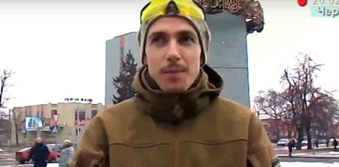 «Ми – забатрачена Україна», – черкаський доброволець (відео)