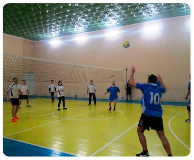 Відбулися змагання з волейболу серед працівників освіти
