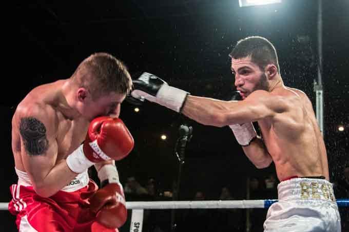 Мішико Беселія з Черкас завоював титул чемпіона України з боксу
