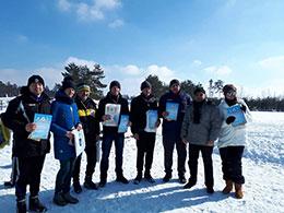 Змагання з лижних перегонів Черкаського району відбулися в селі Геронимівка