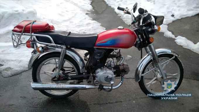 На Канівщині затримано крадія велосипеду, а на Корсунщині – крадія скутера
