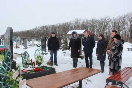 У Монастирищі вшанували світлу пам'ять Героя