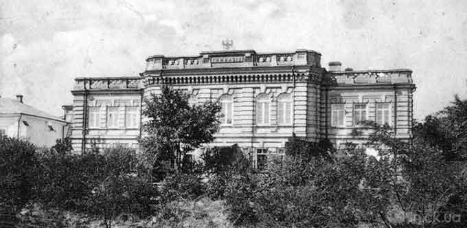 Чоловіча урядова гімназія в Черкасах, старе фото