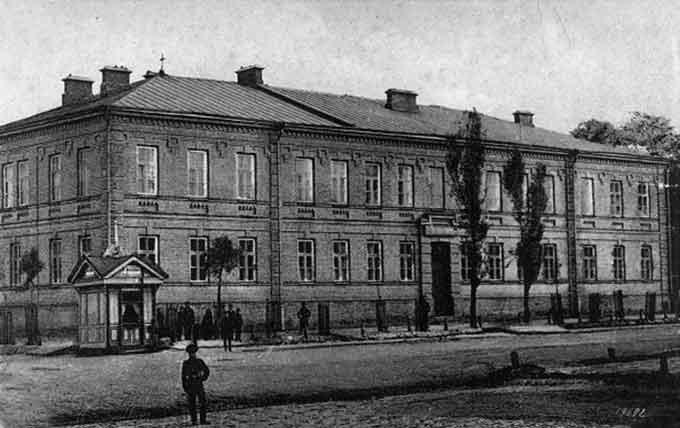 Духовне училище в Черкасах, старе фото