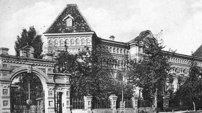 Гімназія Самойловської у Черкасах, старе фото