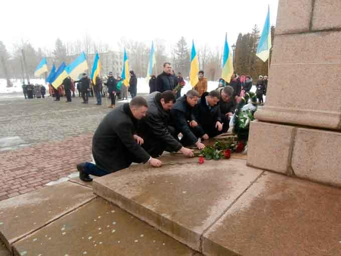 На Звенигородщині відзначили 204 річницю від дня народження Великого Кобзаря