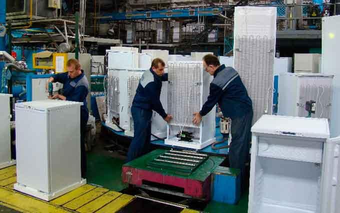 виробництво холодильників