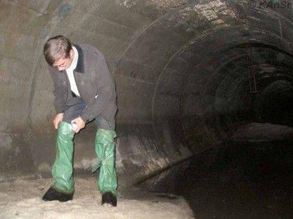 Черкаський краєзнавець Борис Юхно у притаманній йому гумористичній манері підготував чергову історичну довідку – розповідь про «підземні Черкаси».