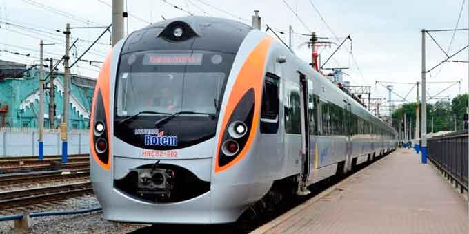 Швидкісний потяг знову зупинятиметься на станції імені Тараса Шевченка